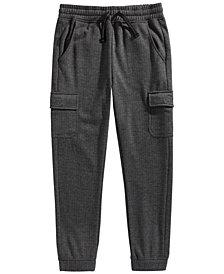 Epic Threads Big Boys Cargo Fleece Joggers, Created for Macy's