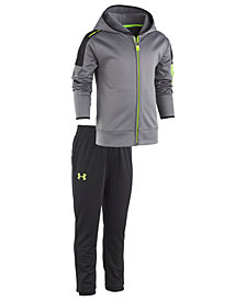 Under Armour Little Boys 2-Pc. Lit-Up Hoodie & Pants Set