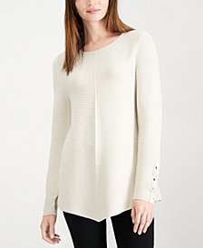 Alfani Metallic Swing Sweater, Created for Macy's