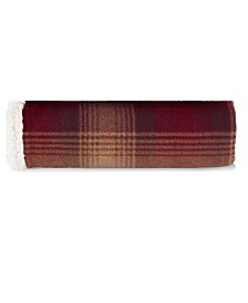 Eddie Bauer Nordic Plaid Raisin Throw