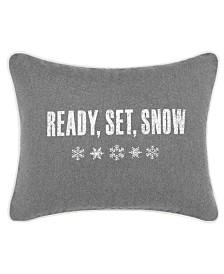 Eddie Bauer Ready Set Snow Dark Grey Breakfast Pillow