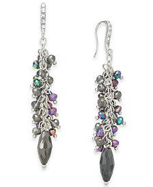 I.N.C. Shaky Bead Drop Earrings, Created for Macy's