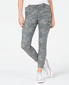 Vanilla Star Juniors' Camouflage Cargo Pants