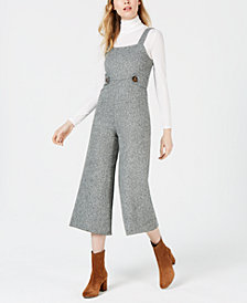 Sage The Label Square-Neck Cropped Jumpsuit