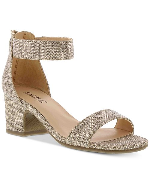 Badgley Mischka Little & Big Girls Pernia Velma Sandals