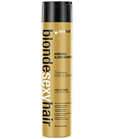 Blonde Sexy Hair Bombshell Blonde Daily Color Preserving Shampoo, 10.1-oz., from PUREBEAUTY Salon & Spa
