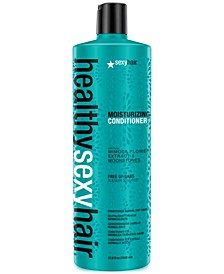 Healthy Sexy Hair Moisturizing Conditioner, 33.8-oz., from PUREBEAUTY Salon & Spa