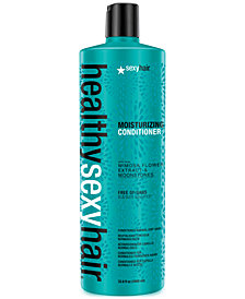 Sexy Hair Healthy Sexy Hair Moisturizing Conditioner, 33.8-oz., from PUREBEAUTY Salon & Spa