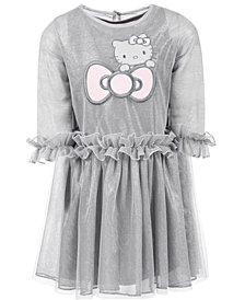 Hello Kitty Toddler Girls Ruffle-Trim Mesh Dress