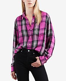 Levi's® Buffalo Plaid Button-Front Shirt