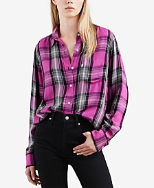 Levi's® Buffalo Plaid Button-Front Shirt