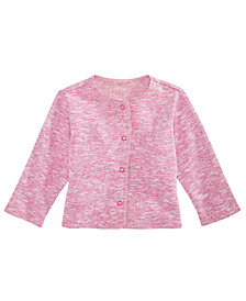 First Impressions Baby Girls Button-Front Cardigan, Created for Macy's