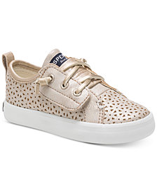 Sperry Toddler & Little Girls Crest Vibe Perforated Sneakers