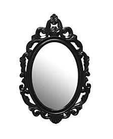 Stratton Home Decor Black Baroque Mirror