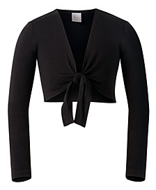 Toddler, Little & Big Girls Tie-Front Bolero