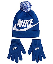 2-Pc. Swoosh Beanie & Gloves Set, Big Boys