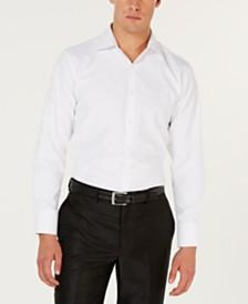 Tallia Men's Slim-Fit White Tonal Paisley Dress Shirt