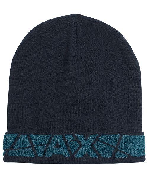 f8f68c91ce13d Armani Exchange Men s Beanie   Reviews - Hats