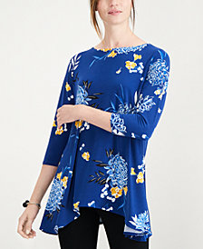 Alfani Printed Swing Top, Created for Macy's