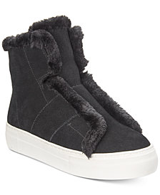 DKNY Mason High-Top Sneakers, Created for Macy's