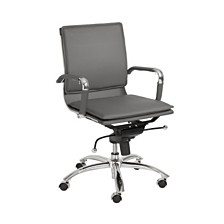 Gunar Low Back Office Chair, Quick Ship