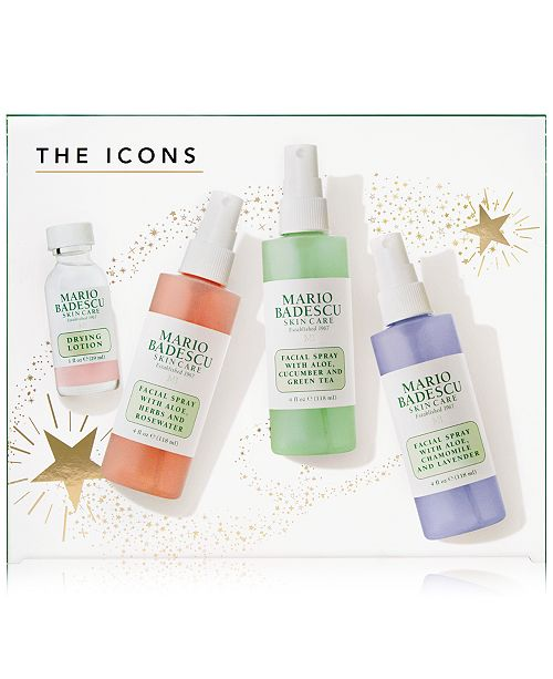 Mario Badescu 4 Pc The Icons Set Created For Macy S A 38