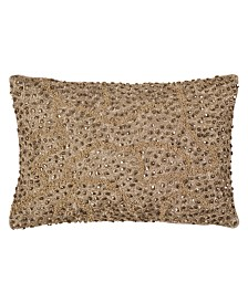 Michael Aram Gold Pomegranate Bead Pillow
