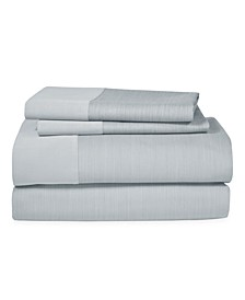 Striated Band Queen Fitted Sheet