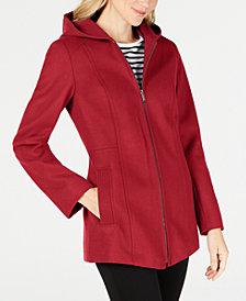 London Fog Hooded Coat
