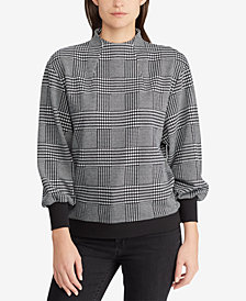 Lauren Ralph Lauren Glen Plaid Top
