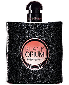 Yves Saint Laurent Black Opium Eau de Parfum, 3-oz
