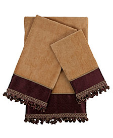 Sherry Kline Altadore 3-piece Embellished Towel Set