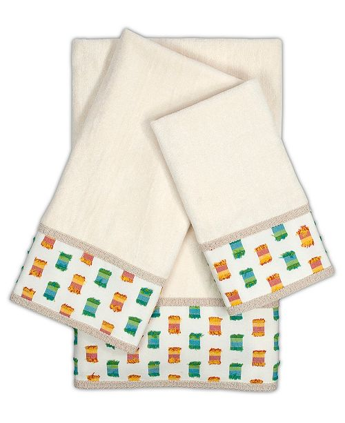 Sherry Kline O'Fifi 3-piece Embellished Towel Set