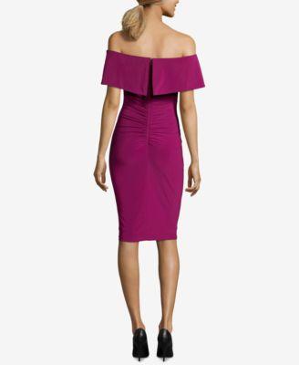 Xscape Purple Dress