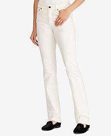 Lauren Ralph Lauren Petite Premier Straight Pants