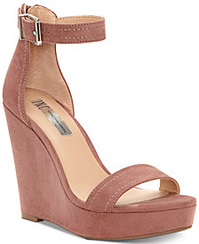 I.N.C. Vidita Platform Wedge Sandals, Created for Macy's