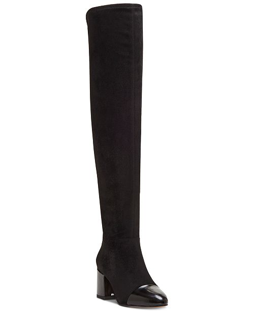 INC International Concepts I.N.C. Women's Alvita Over-The-Knee Boots, Created for Macy's