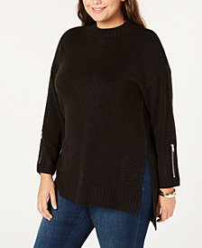 One A Plus Size Sweater Tunic
