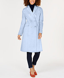 T Tahari Double-Breasted Coat