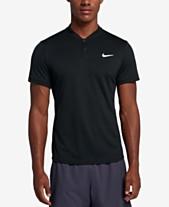 e490cd6c Nike Men's Court Dry Blade-Collar Tennis Polo