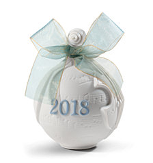 Lladró 2018 Christmas Ball Ornament