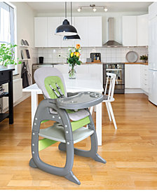 Envee II Baby High Chair with Playtable Conversion