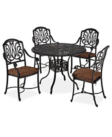 "Home Styles Floral Blossom 5 PC Dining Set (42"" Table)"
