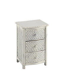 Home Styles Marco Island Night Stand White Finish