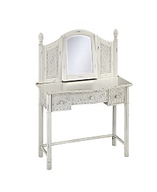 Home Styles Marco Island Vanity and Mirror