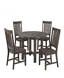 Home Styles Concrete Chic 5PC Dining Set