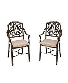 Floral Blossom Arm Chair Pair