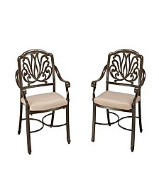 Home Styles Floral Blossom Arm Chair Pair