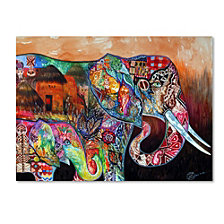 Oxana Ziaka 'Africa' Canvas Art Collection