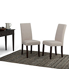 Set of 2 Avery Dining Chair, Quick Ship